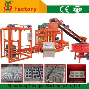 Qtj4-25 Full Automatic Concrete Block Moulding Machine Price pictures & photos