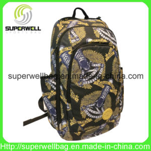 2016 Fashion Full Printted PU Sports Backpack Bag pictures & photos