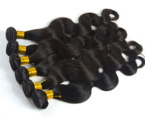 High Quality Unprocessed Remy Virgin Brazilian Human Hair pictures & photos
