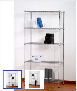 Modern Furniture Adjustable DIY Metal Wire Book Storage Rack (CJ9045180A4C) pictures & photos
