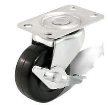 Medium Duty Type Side Brake Type Hard Rubber Wheel Caster Kmx8-M20 pictures & photos