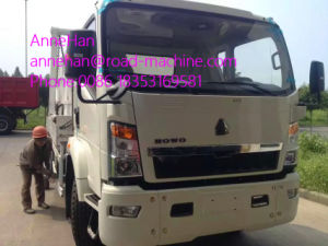 4X2 HOWO Light Hork Arm Garbage Truck Collection 5m3 190HP pictures & photos