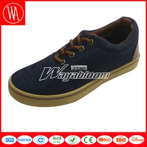 Lace-up Plain Canvas Shoes Men Casual Shoes