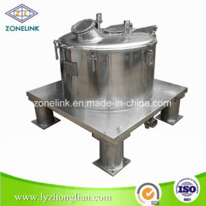 Full Stainless Steel Food Standard Top Discharge Flat Filter Centrifuge for Palm Oil pictures & photos