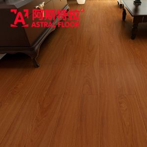 Rose Teak 12mm Silk Surface HPL Flooring Laminate Flooring (AN1908) pictures & photos