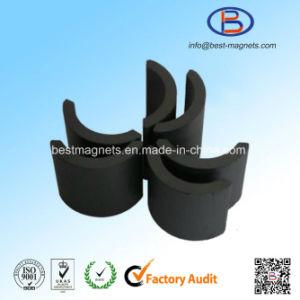 Arc Shape Ferrite Magnet Segment pictures & photos