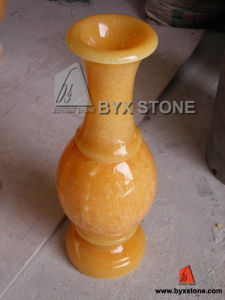 Honey Onyx Flower Vase for Home Decoration pictures & photos