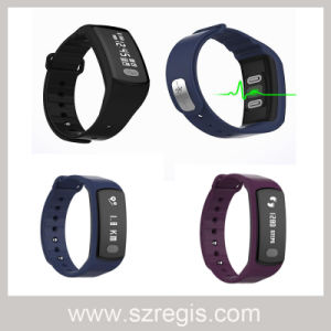 Multifunction Test Blood Pressure Heart Rate Electrocardiogram Smart Bracelet pictures & photos