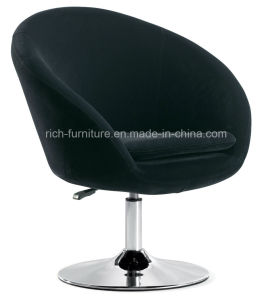 Modern Velvet Swivel Chair for Hotel (Iron Frame) pictures & photos
