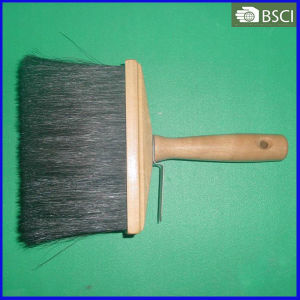 732-B-W Black Bristle Ceiling Brush with Wooden Handle, Painting Brush pictures & photos