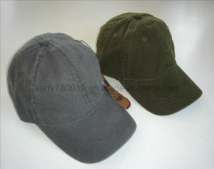 Plain Cotton Washed Cap pictures & photos