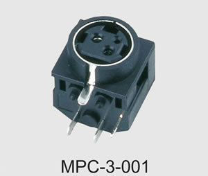 Mini DIN Power Connector (MPC-3-001) pictures & photos
