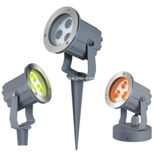 IP65 3W/9W RGB3in1 LED Garden Spot Light pictures & photos