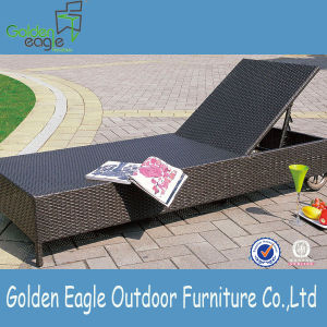 Rattan Poolside Sun Lounger and Sofa Bed