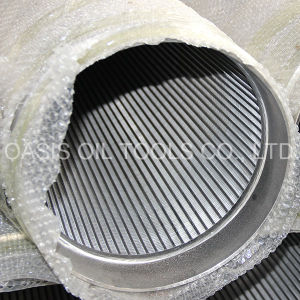 0.5mm Slot Ss Pipe Strainer/Pipe Filter pictures & photos