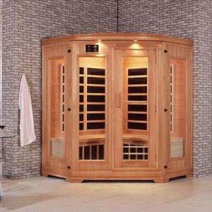 Finland White Pine Infrared Sauna Room pictures & photos
