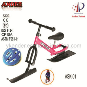 2014 New Snow Scooter/ Snow Ski Bike with Helmet (ASK-01))