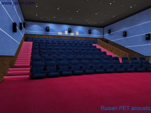 Blue Pet Acoustic Panel for Moive Theater pictures & photos