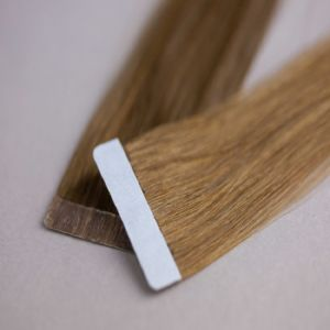 European Virgin Remy Seamless Skin Tape Weft Human Hair Extension pictures & photos