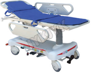 Luxurious Hydraulic Rise-and-Fall Stretcher Cart X-ray pictures & photos