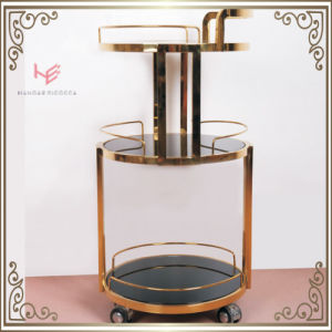 Trolley (RS150502) Cart Liquor Trolley Stainless Steel Furniture pictures & photos