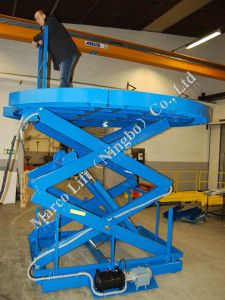Marco High Scissor Lift Table with Removable Segments pictures & photos
