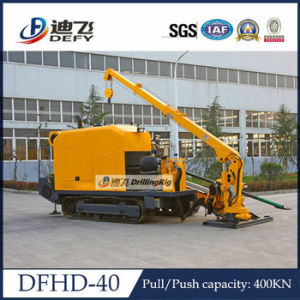 Dfhd-40 Horizontal Directional Drilling Machine pictures & photos