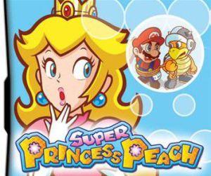 Super Princess Peach Dsi Games Card