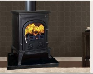 Cast Iron Wood Burning Stoves (AM01B-12KW(R)) pictures & photos