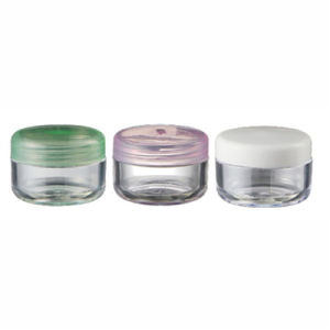 Wholesale Empty Round 6ml Cosmetic AS Plastic Jar (NJ45) pictures & photos