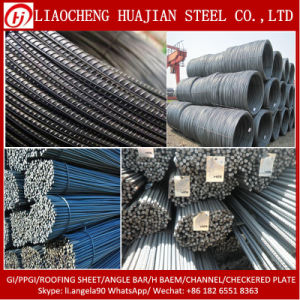 Building Material Deformed Reinforcing Steel Bar in Stock pictures & photos