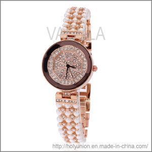 VAGULA Imitation Jewelry Bracelet with Clock (Hlb15664) pictures & photos