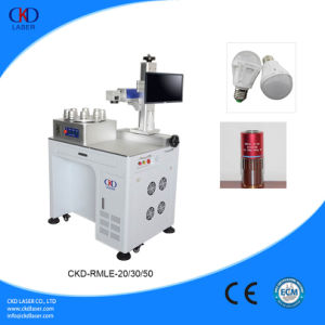 LED Bulb Rotary Fiber Laser Marking Machine pictures & photos