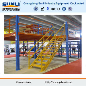 Multi Tier Steel Storage Rack Mezzanine pictures & photos