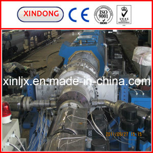 Triple Layer HDPE Pipe Extrusion Line pictures & photos
