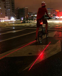 Mini LED Tail Safety Light for Bicycle Bike pictures & photos