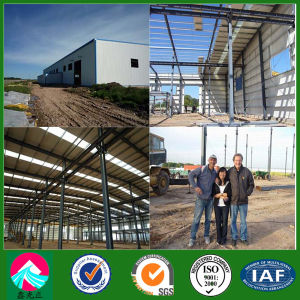 Light Steel Structure Workshop Building with Guide Construction (XGZ-SSB154) pictures & photos