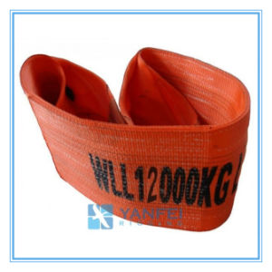 12t Polyester Webbing Sling ISO4878/En1492-1/Asme B30.9 pictures & photos