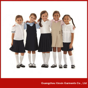 Wholesale Cheap Stylish Cotton Polyester School Wear Factory (U6) pictures & photos
