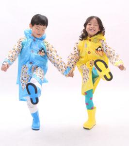 Happy Monkey PVC Coat for Children (803)