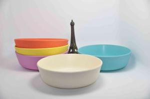 Eco-Friendly Bamboo Fiber Tableware Bowl pictures & photos