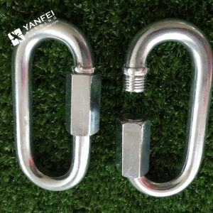 Zinc Plated Carabiner Hook/Quick Link pictures & photos