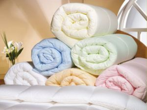 Low Price Colorful Cotton Comforter