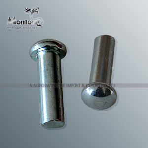 Steel Round Head/ Headless Pin (PIN001)