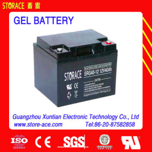 12V 40ah Hybrid Gel Battery (brand: Storace) pictures & photos