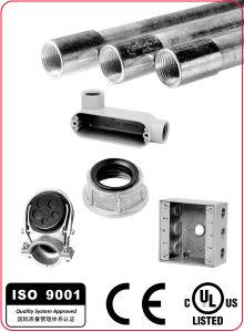 Zinc Flexible Conduit Squeeze Connector Angle Type pictures & photos