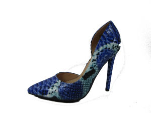 Wholesale Fashion Women High Heel Dress Shoes Lady Pump Shoes pictures & photos