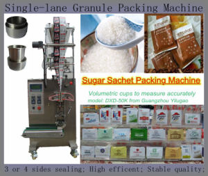 Single Line 3or4 Sides Sealing Beans Packing Machine (sugar; salt) pictures & photos
