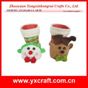 Christmas Decoration (ZY13G144-1-2 14CM) Indoor Christmas Items OEM Factory China pictures & photos