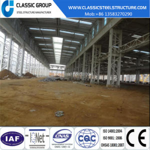 Easy Assembly Steel Structure Prefeb Warehouse Building with Crane 100 Ton pictures & photos